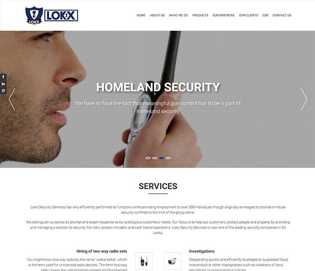 Lokx Website